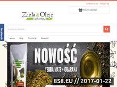 Miniaturka domeny ziolaioleje.pl