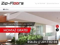Miniaturka domeny www.zip-floors.pl