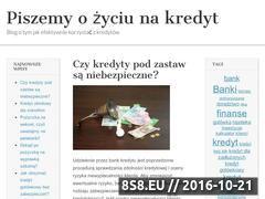 Miniaturka domeny www.zkredytu.pl