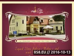 Miniaturka domeny www.zlotaiglica.pl