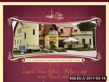 Zrzut strony Karczma i hotel - Racibórz