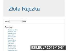 Miniaturka domeny zlotaraczka.suwalki.pl