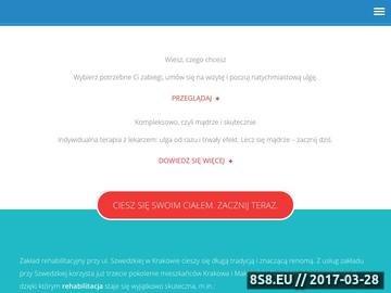 Zrzut strony Rehabilitacja Kraków