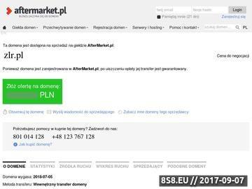 Zrzut strony Moderowany katalog stron seo. Zlr.pl