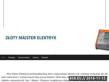 Zrzut strony Instalacje elektryczne i pomiary