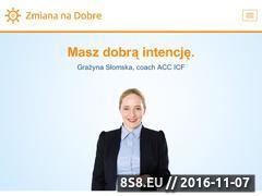 Miniaturka domeny www.zmiananadobre.pl