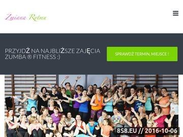 Zrzut strony Zajęcia z instruktorem zumby w Malborku i w Sztumie