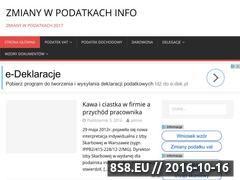 Miniaturka domeny zmianywpodatkach.info