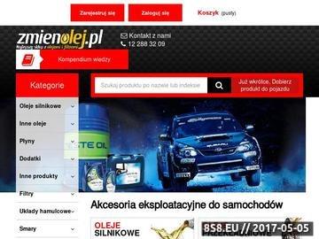 Zrzut strony Oleje silnikowe