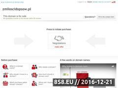 Miniaturka domeny www.zmiloscidopsow.pl