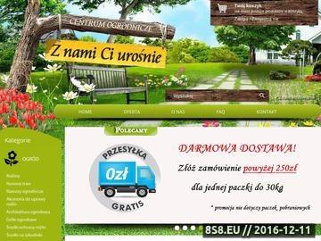 Zrzut strony Internetowy sklep ogrodniczy zNamiCiUrośnie.pl