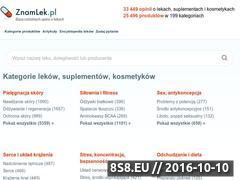 Miniaturka domeny www.znamlek.pl