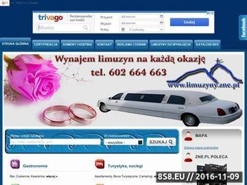 Zrzut strony Zakopane Na Ekranie - Panorama Firm Podhala - baza noclegowa