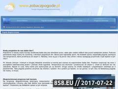 Miniaturka domeny www.zobaczpogode.pl