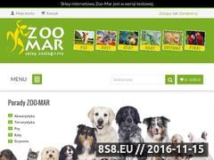 Miniaturka domeny www.zoo-mar.pl