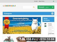 Miniaturka domeny www.zoocentrum24.pl
