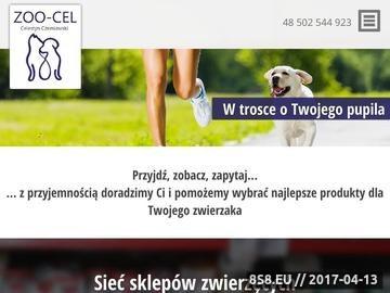 Zrzut strony Artykuły dla psów Zoo-Cel