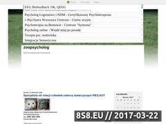 Miniaturka domeny www.zoopsycholog.blox.pl