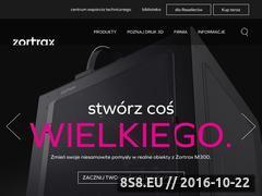 Miniaturka domeny zortrax.pl