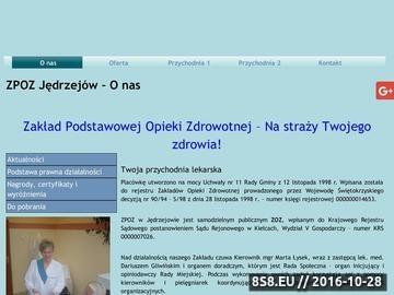 Zrzut strony ZPOZ Jędrzejów - rehabilitacja