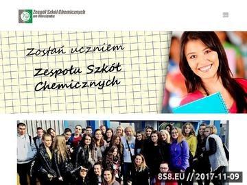 Zrzut strony Zespół Szkół Chemicznych we Włocławku