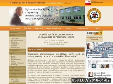 Zrzut strony Hotel ZSE Tczew - noclegi
