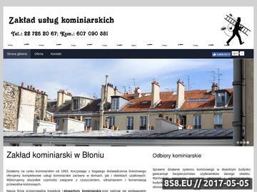 Zrzut strony Usługi kominiarskie Warszawa Bemowo