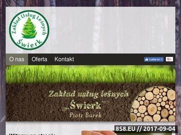 Zrzut strony Świerk - wylesienia pod inwestycje