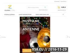 Miniaturka domeny www.zumaline.com