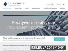 Miniaturka domeny zunis.pl