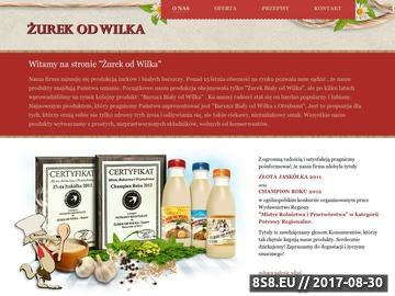Zrzut strony Wytwórnia Barszczu Żurek od Wilka