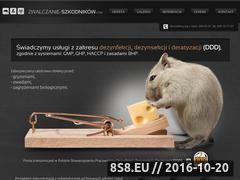 Miniaturka domeny www.zwalczanie-szkodnikow.pl