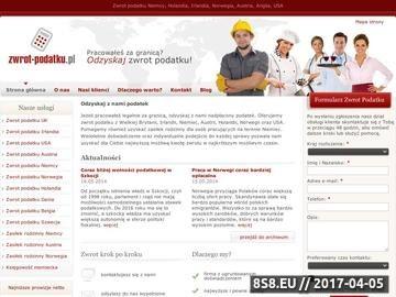 Zrzut strony Zwrot podatku Austria
