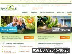 Miniaturka domeny www.zyciedirect.pl