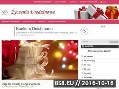 Miniaturka domeny www.zyczenia-urodzinowe.com