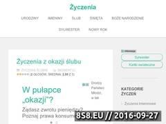 Miniaturka domeny zyczeniomania.pl