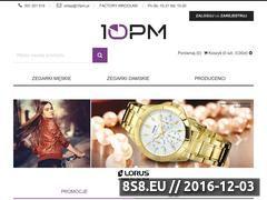 Miniaturka domeny www.10pm.pl