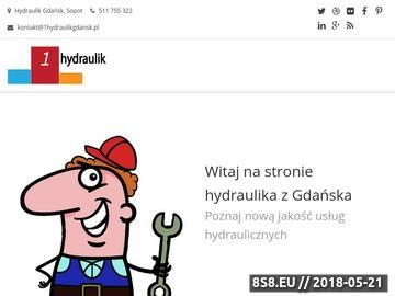 Zrzut strony Hydraulik Gdańsk - Najlepsze usługi hydrauliczne w Gdańsku