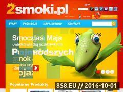 Miniaturka domeny www.2smoki.pl
