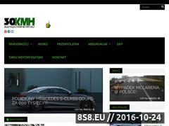 Miniaturka Portal z nowinkami motoryzacyjnymi (30kmh.pl)