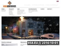 Miniaturka domeny www.3dvision.pl
