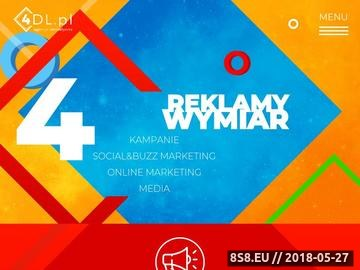 Zrzut strony Agencja interaktywna Łódź