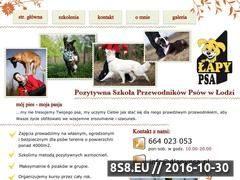 Miniaturka domeny www.4lapypsa.pl