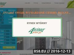Miniaturka domeny 4sciany.waw.pl