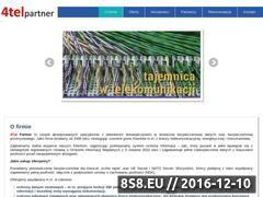 Miniaturka domeny 4telpartner.pl