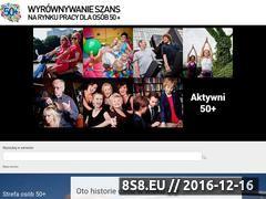 Miniaturka domeny 50plus.gov.pl