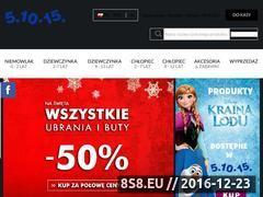 Miniaturka domeny www.51015kids.eu