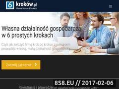 Miniaturka 6krokow.pl (Poradnik biznesowy dla przedsiębiorców)