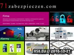 Miniaturka domeny 71zabezpieczen.com