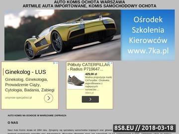 Zrzut strony Nauka jazdy Warszawa Prawo jazdy Warszawa - Ośrodek Szkolenia Kierowców 7-ka